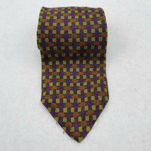 XMI Necktie Geometric Multicolor Mens Tie